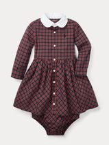 新作♪ 国内発送 Tartan Shirtdress & Bloomer girls 9~24M