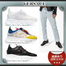 19SS/送料込≪VERSACE≫ Chain Reaction レースアップスニーカー