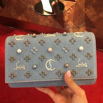 VIPセール ☆ Paloma Clutch Denim Canvas ☆ クラッチバッグ