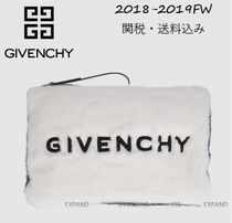 2018-2019FW★GIVENCHY 大人気フェイクファーポーチ【関税込み】