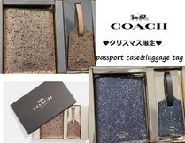 Coach(コーチ) パスポートケース・ウォレット ホリデー限定!COACH☆パスポートケースセット ギフト