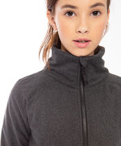 ivivva athletica(イヴィヴァ アスレティカ) キッズスポーツウェア 【 On The Warm Side Jacket 】★ Black/Coal