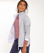 【 On The Warm Side Jacket 】★ Sheer Lilac/Silver Fox/S.L.