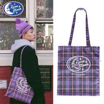NEONMOON★PURPLE CHECK BAG
