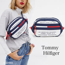 ◆NEW◆TOMMY JEANS◆ ロゴ ウエスト ボディバック