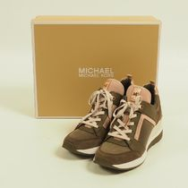 MICHAEL KORS★Georgie キャンバススニーカー:6[RESALE]