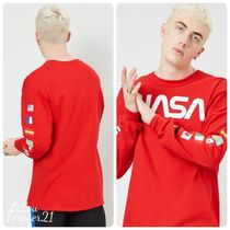 Forever21★ NASA Graphic Long-Sleeve Top ロゴTシャツ ロンT