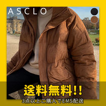 ★ASCLO★ Over Suede Duck Short Down