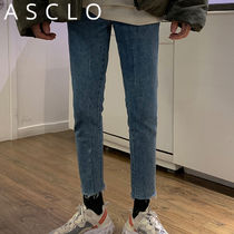 ★ASCLO★ Lock Flare Denim Pants