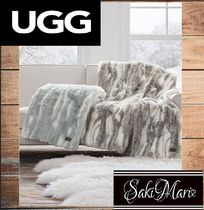 【UGGアグ】肌触り最高*home Marina Faux Fur Throw