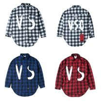 日本未入荷STIGMAのVSC OVERSIZED WOOL CHECK SHIRTS 全3色
