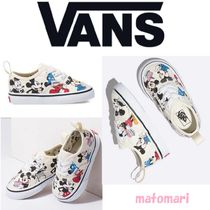完売続出!!【Disney x Van】TODDLER AUTHENTIC ミッキー 9-15㎝