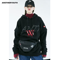ANOTHERYOUTH(アナザーユース) パーカー・フーディ ANOTHERYOUTH正規品★ジッパースリーブパーカー★UNISEX