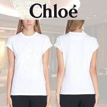 VIP価格【Chloe】embroidered t-shirt 関税込
