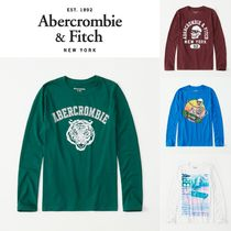 Abercrombie(アバクロ)★long-sleeve graphic Tシャツ