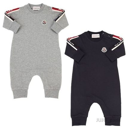 Moncler★2019SS★BABY袖ロゴ入ロンパース★2色展開★1~18M