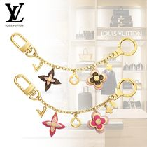 【Louis Vuitton】BIJOU DE SAC CHAINE BLOOMING FLOWERS