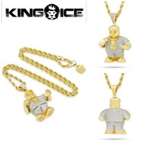 【Notorious B.I.G. x King Ice 】☆新作☆Biggie SmallNecklace