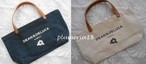 DEAN&DELUCA(ディーンアンドデルーカ) トートバッグ 《ハワイ限定》DEAN&DELUCA-leather handle small tote