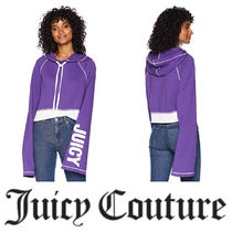 【Juicy Couture】日本未入荷∞Track Fleece Cropped Pullover