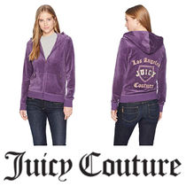 【Juicy Couture】☆Track Velour Home Team Robertson Jacket