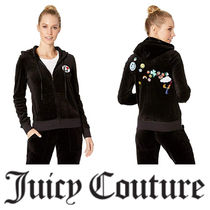 【Juicy Couture】 ☆Juicy Patches Velour Robertson Jacket