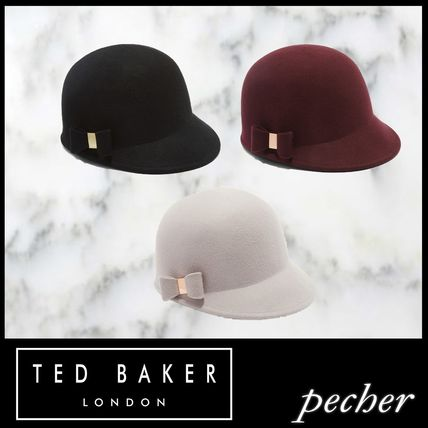 TED BAKER ハット  Ted Baker JALIA 乗馬ハットリボンデザイン ... 83f8cdd2bd6