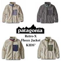 大人気!【Retro-X】Kids' Fleece Jacket