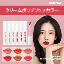 ★CANDYLAB★Creampop The Velvet Lip Color/リップカラー★
