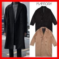 ★韓国の人気★【MANTORY】★ Overfit Double Coat ★2色★