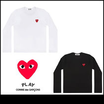 PLAY COMME des GARCONS 長袖 Tシャツ 白 黒