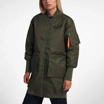 Nike Sportswear NSW Women's Parka In Olive Canvas