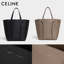 新作☆【CELINE】MEDIUM CABAS PHANTOM レザートート