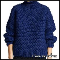 VERYで人気☆I LOVE MR MITTENS☆上質PearlセーターNavy