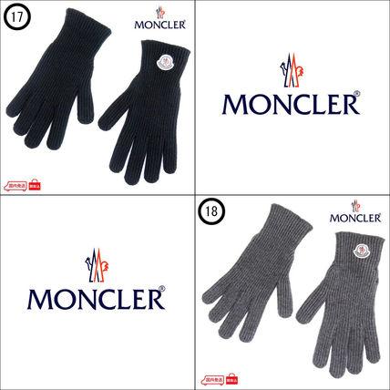 MONCLER 手袋 ☆クーポン発行可☆ MONCLER 国内発送 手袋/グローブ