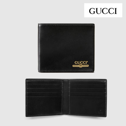 innovative design 43260 ea6ee GUCCI★グッチ ロゴ レザー ウォレット[直営店]