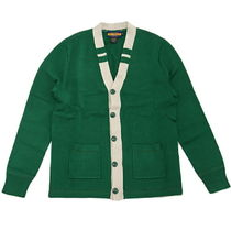 Rugby(ラグビー) カーディガン RUGBY by Ralph Lauren V-Neck Cardigan Green Cream rug0052