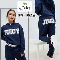 Juicy By Juicy Couture oversize logo hoodie&ジョガー