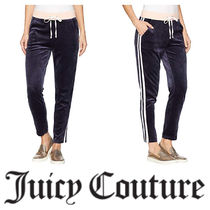 【Juicy Couture】☆ Track Lightweight Velour Stripe Pants