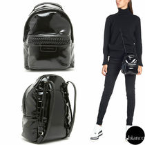 関税込StellaMcCartney FALABELLA BACKPACK S 2WAY パテント