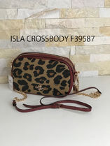 追跡有 COACH★ISLA CHAIN CROSSBODY F39587*ヒョウ柄