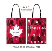 MAC マック トートバッグ ☆カナダ限定☆ Proud to be Canadian tote