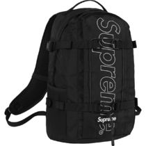 国内即発 18AW Supreme Backpack 3M Reflective Box Logo 黒