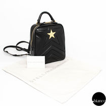 関税込StellaMcCartney MATELASSE STAR ミニバックパック 3WAY