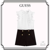Guess(ゲス) キッズワンピース・オールインワン 大人もOK!GUESS☆Girls モノトーン クレープ Playsuit 12-16year