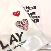2018限定品☆COMME des GARCONS HAPPY HOLIDAYS☆PLAY Tシャツ