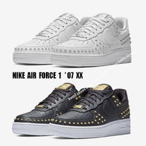 NIKE★WMNS AIR FORCE 1 '07 XX★スター スタッズ★2色