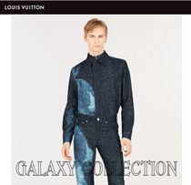 ★NEW★【Louis Vuitton】GALACY COLLECTIONデニムシャツ