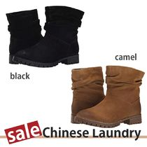 SALE【Chinese Laundry】Flip Slouch★ローヒールブーティ