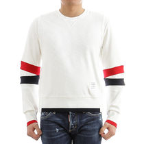 THOM BROWNE 18AW Chunky Jersey コットン トレーナー_WHITE